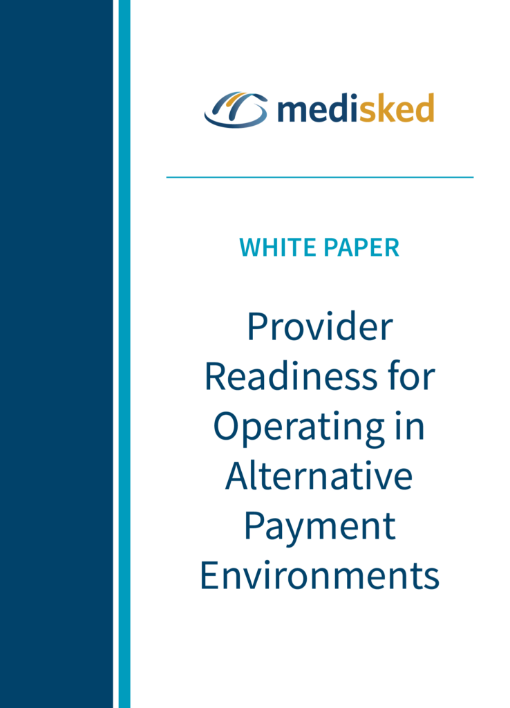 Provider Readiness for Operating in Alternative Payment Environments